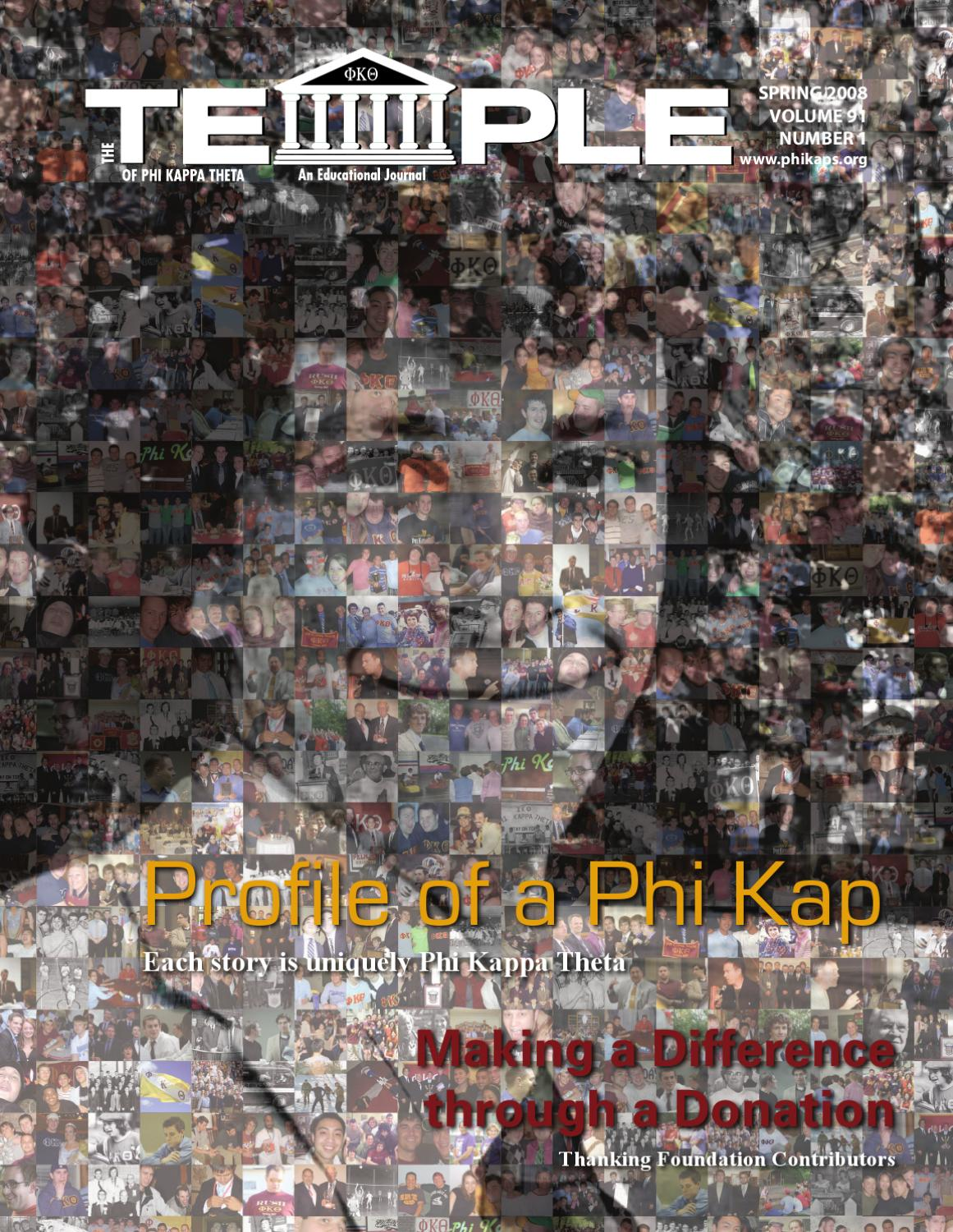 The temple journal of phi kappa theta spring 2008 by phi kappa the temple journal of phi kappa theta spring 2008 by phi kappa theta fraternity issuu biocorpaavc Gallery