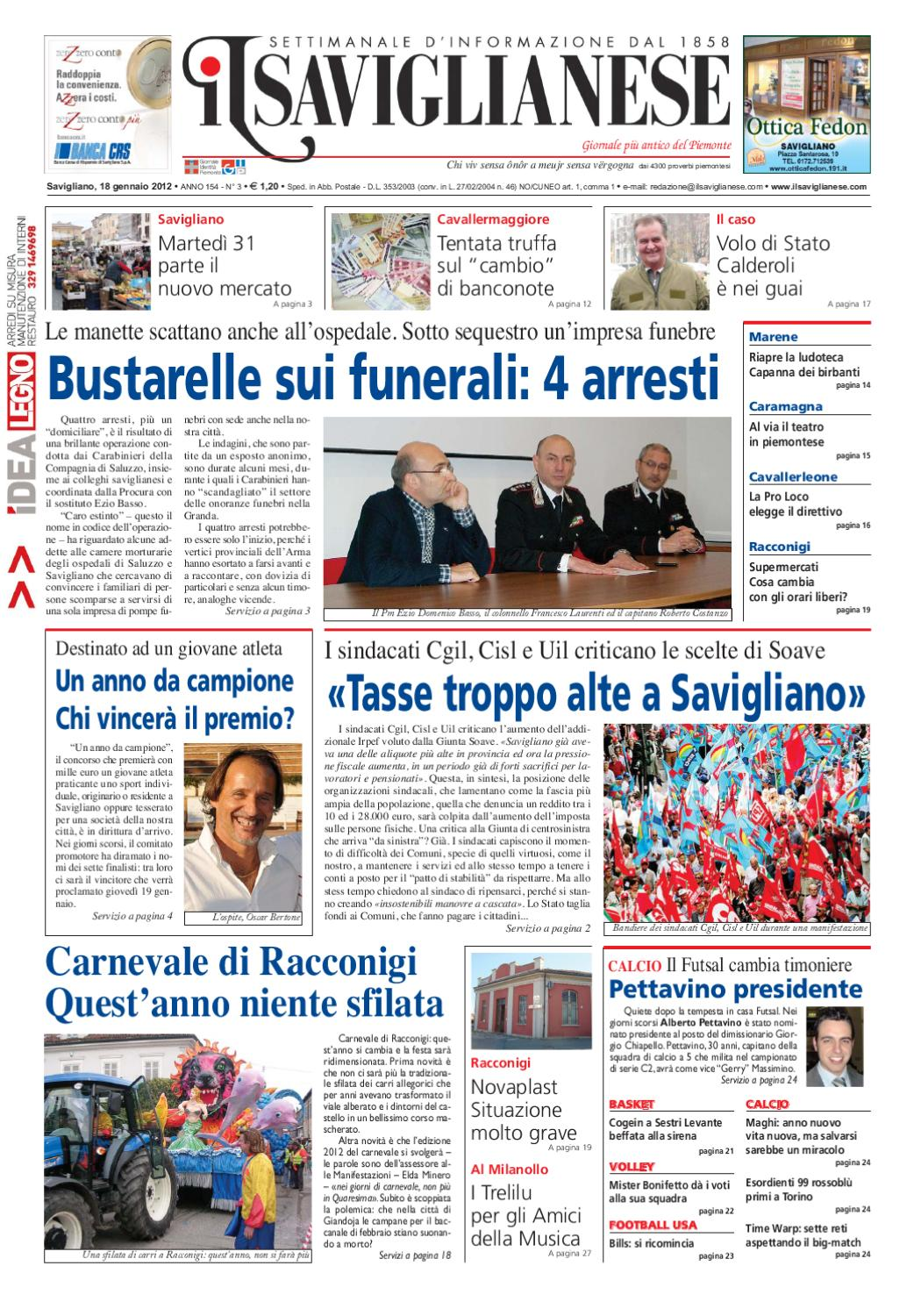 18-1-2012 by Valerio Maccagno - issuu b138a4f7595
