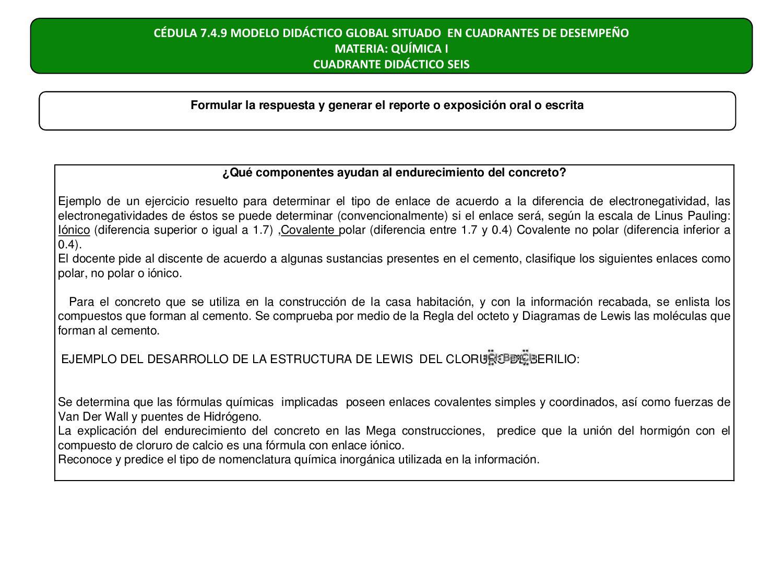 Programa De Química I 3er Semestre By Subdirección De