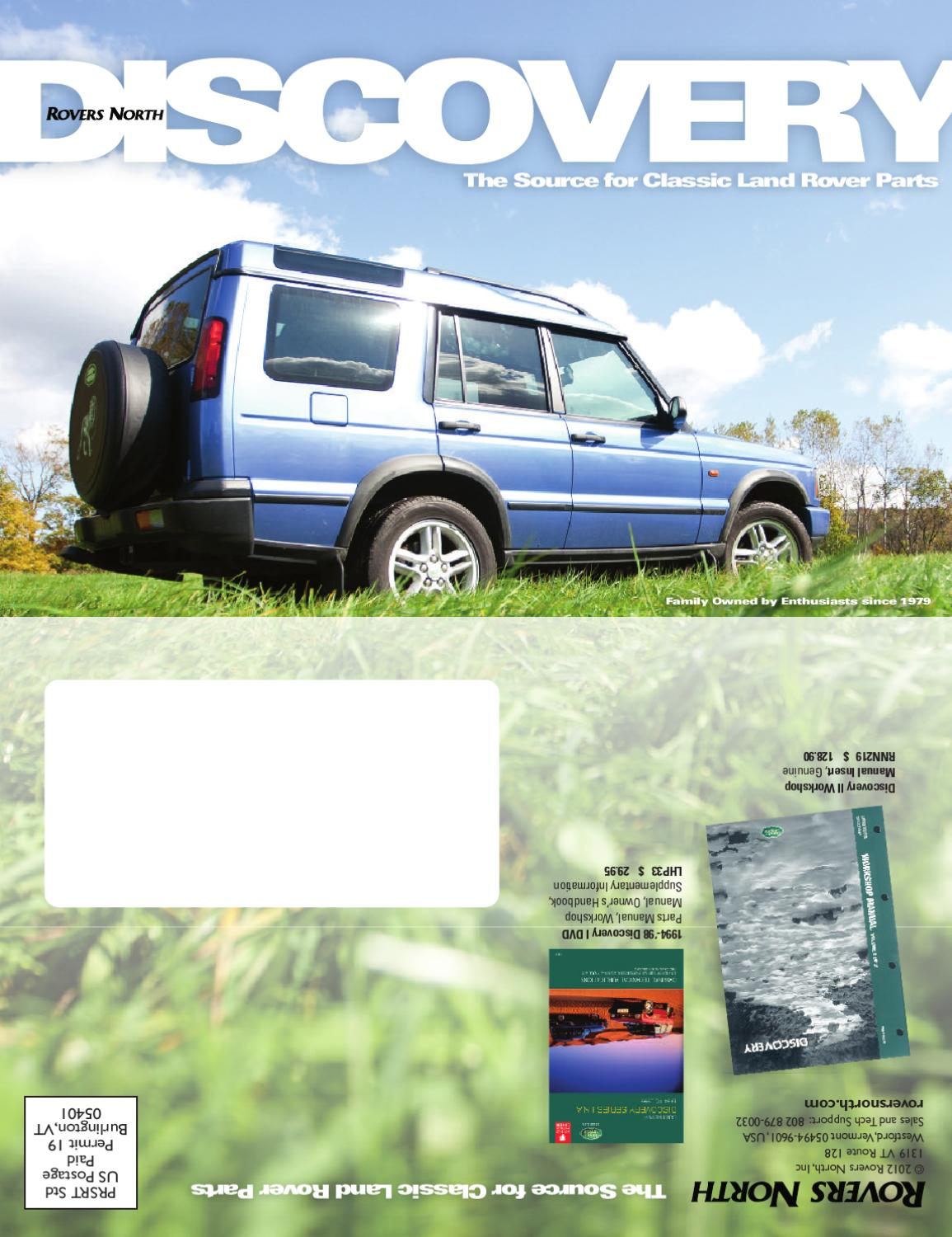 98 Land Rover Discovery Parts Car 2004 Diagram Wiring Schematic Accessories By Rovers North Issuu