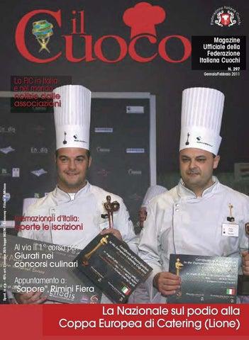Magazine Ufficiale della Federazione Italiana Cuochi N. 297  Gennaio Febbraio 2011 c4338ceddf7d