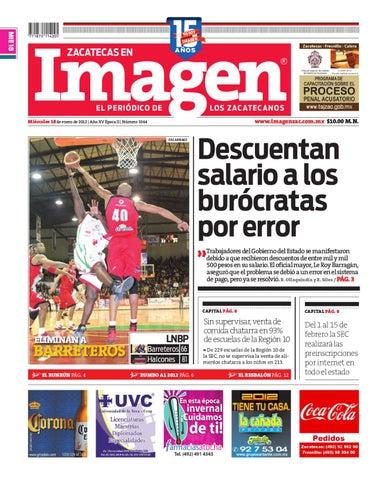 40511c4dd91e 18-01-2012 by Grupo Editorial Zacatecas - issuu