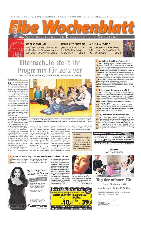 Eidelstedt KW03 by Elbe Wochenblatt Verlagsgesellschaft mbH & Co.KG - issuu