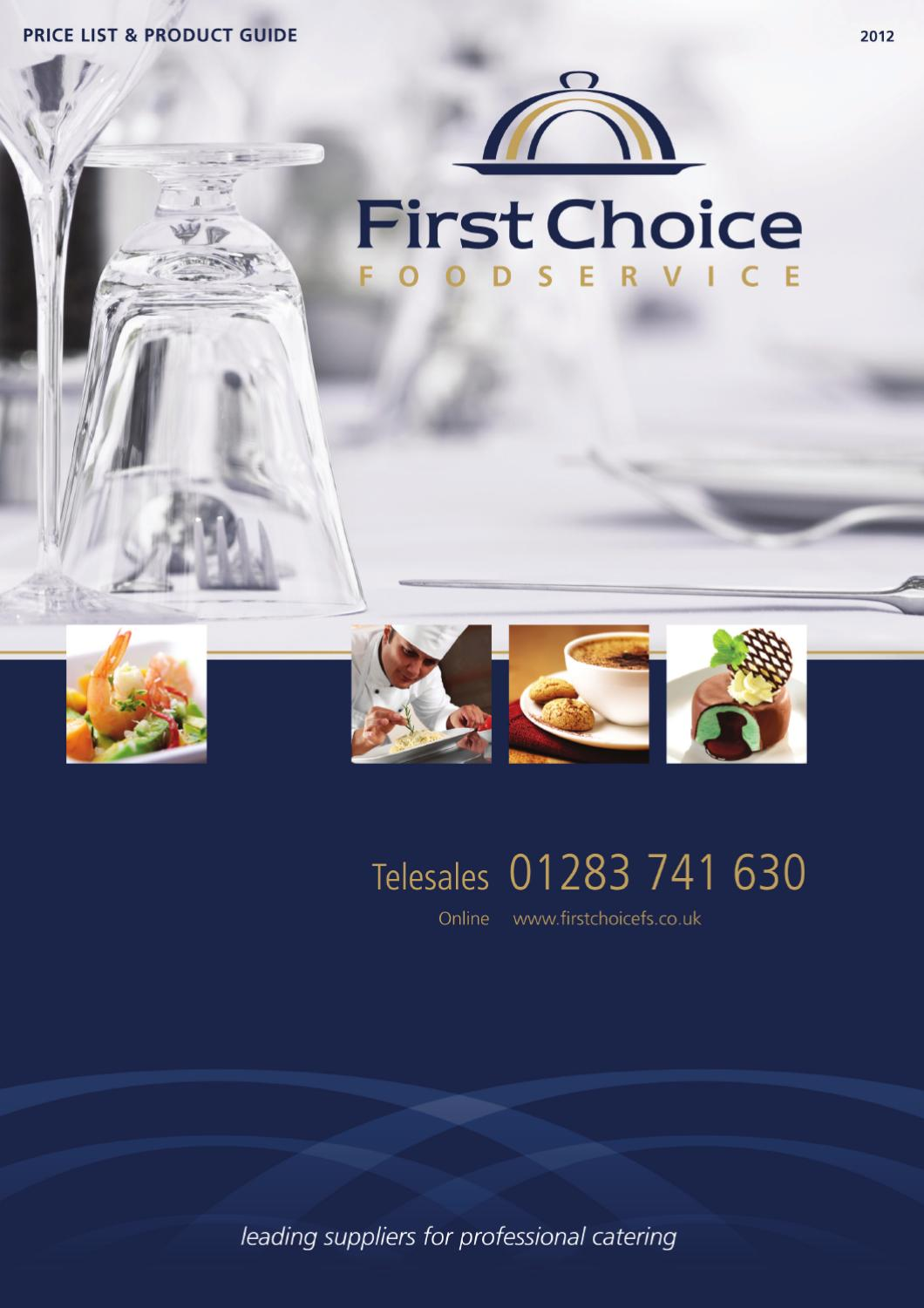 First Choice Food Service Ss2012 By Infotech Studio Issuu Vienna Shampo Conditioner Blue Horse 2in1 Sachet