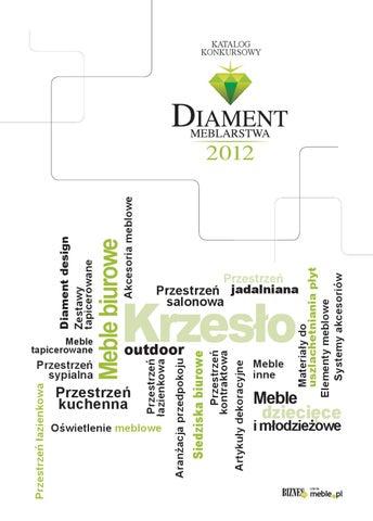 Katalog Diament Meblarstwa 2012 By Wydawnictwo Meblepl Sp Z Oo