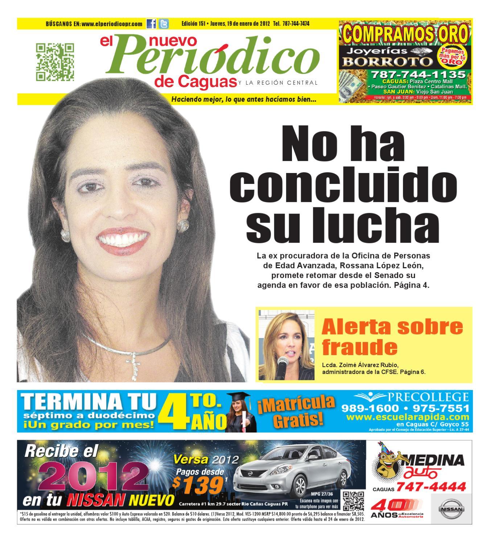 El Nuevo Peri³dico 151 by El Nuevo Periodico de Caguas issuu