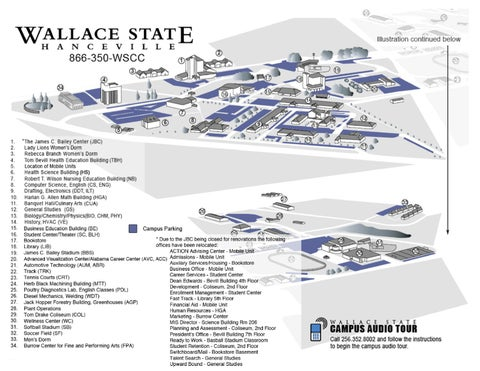 Campus Map By Wallace State Community College Issuu