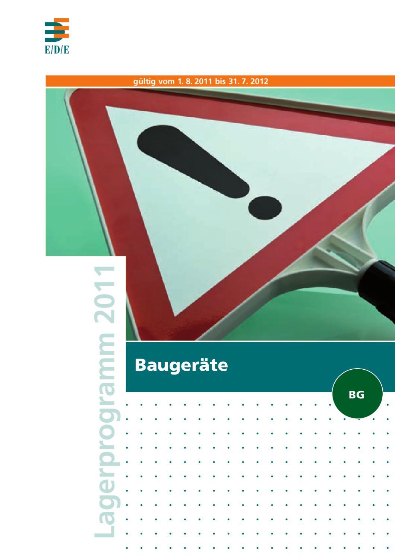 Produktkatalog Baugeräte by SCHÜBBE Werkzeuge - issuu