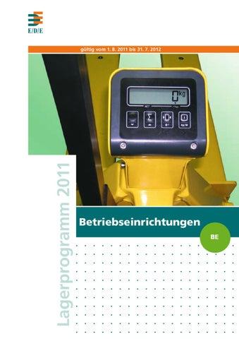 52fe685d95 Betriebseinrichtung by SCHÜBBE Werkzeuge - issuu