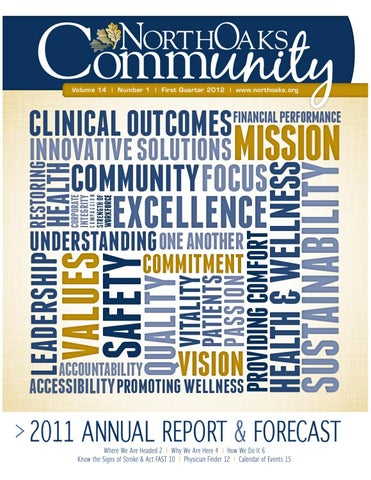 North Oaks Community Newsletter Volume 14 | Number 1 by North Oaks ...