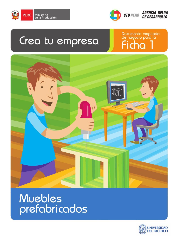 Planes De Negocio Muebles Prefabricados By Cesar Santos Torres  # Muebles Para Nivel Inicial