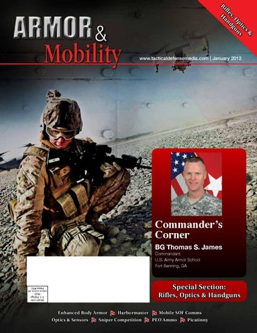 Armor & Mobility, January 2012 by Tactical Defense Media issuu