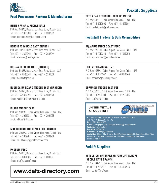 DAFZ Directory by sudeesh Robert - issuu