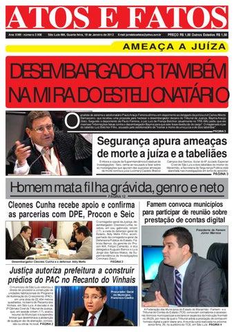 e2d514476fcaa Jornal do dia 18 01 2012 by Atos e Fatos 2 jornal - issuu