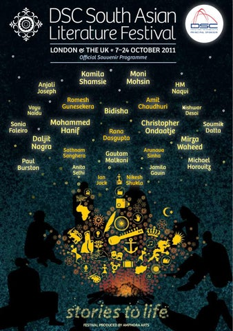 Dsc South Asian Literature Festival 2011 Programme By Pascal Barry