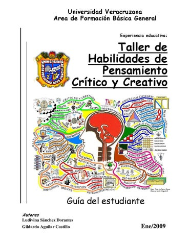 Universidad Veracruzana. Taller de Habilidades de Pensamiento ...