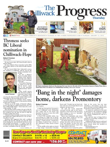 Thurs jan 12 2012 chilliwack progress by chilliwack progress issuu page 1 fandeluxe Image collections