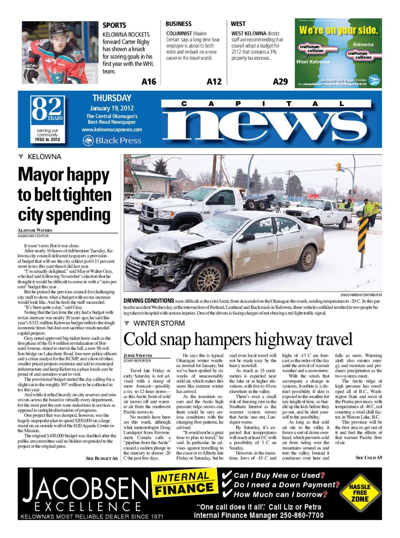 5db75e9b5f4 Kelowna Cap News 19 January 2012 by Kelowna CapitalNews - issuu