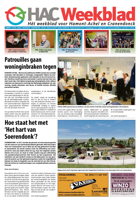 HAC Weekblad week 03 2012 by HAC Weekblad - issuu