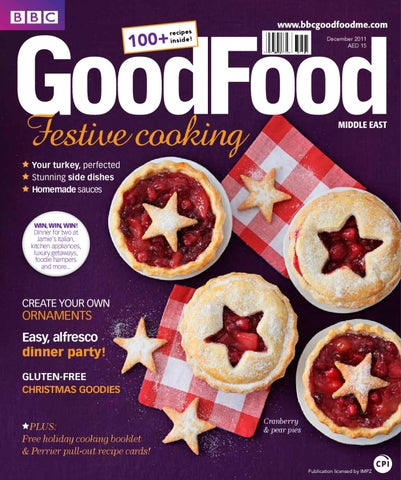 Bbc good food middle east magazine by bbc good food me issuu december 2011 aed 15 your turkey perfected stunning side dishes homemade sauces forumfinder Choice Image