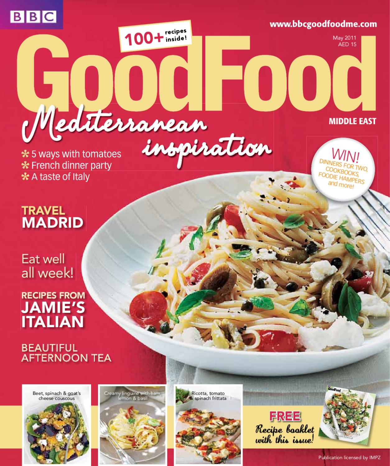 BBC Good Food Middle East Magazine By ME