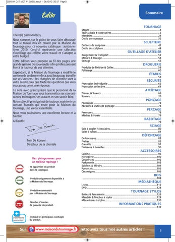 Catalogue Maison Du Tournage    me Partie By Maison Du
