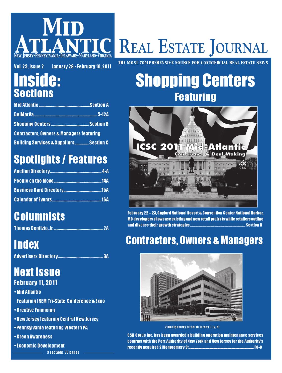 1-28-11MARE Journal by Mid Atlantic Real Estate Journal - issuu