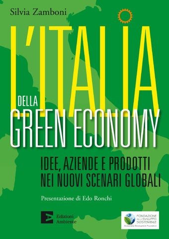 L Italia della Green Economy by Edizioni Ambiente - issuu 149c0be6609
