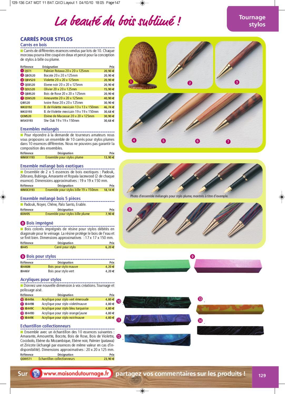 Catalogue Maison du Tournage - 17 - 17ème Partie by Maison du Tournage -  issuu d27bb7e8711