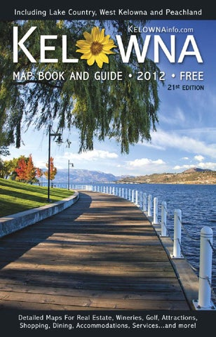 2012 kelowna map book guide by okanagan map guides ltd issuu page 1 publicscrutiny Image collections
