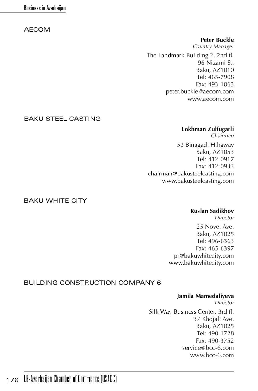 Business Directory 2011 by Susan Sadigova - issuu