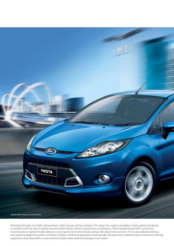 Ford Fiesta Brochure 2012 By Real Strategy Ltd Issuu