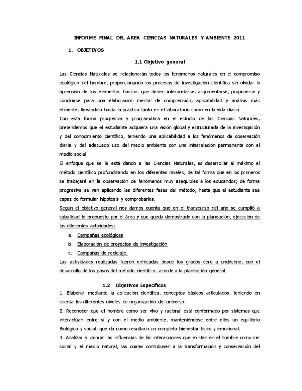 formato de informe academico