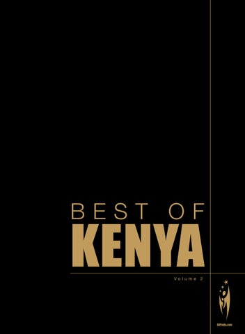 Best of kenya volume 2 by sven boermeester issuu page 1 fandeluxe Image collections