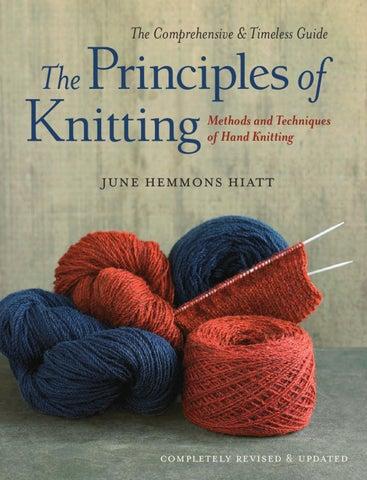 The Principles Of Knitting By June Hemmons Hiatt Excerpt