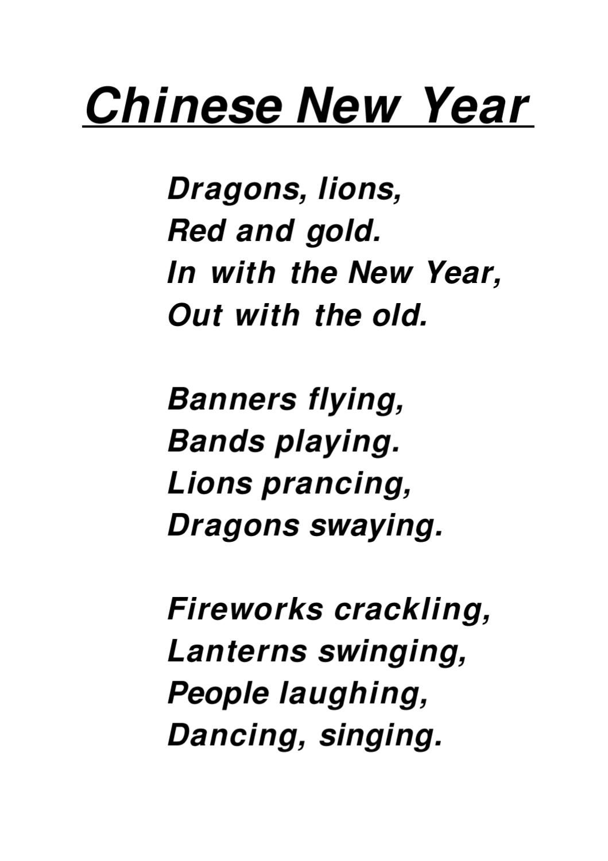 Chinese New Year poem by Marga Saul - issuu