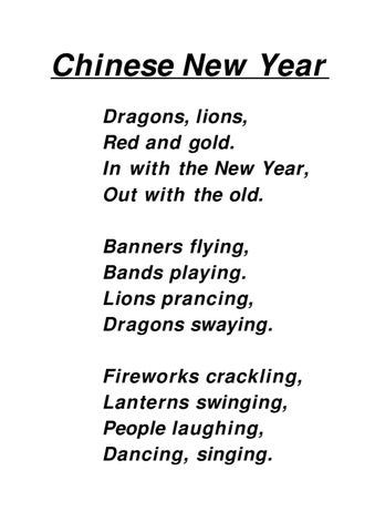 Chinese New Year poem by Marga Saul - issuu