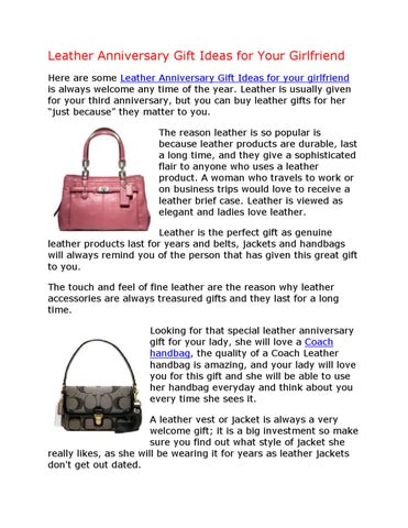 gifts for your girlfriend anniversary