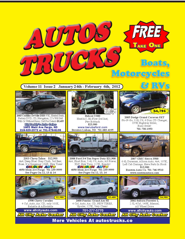 Autos Trucks Volume 11 Issue 2 By Issuu 2003 Chevy Trailblazer Cd Player