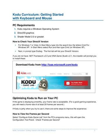 Kodu-Keyboard by Mayra Soto - issuu