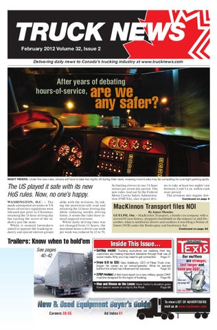 Truck news february 2012 by annex newcom lp issuu page 1 fandeluxe Choice Image