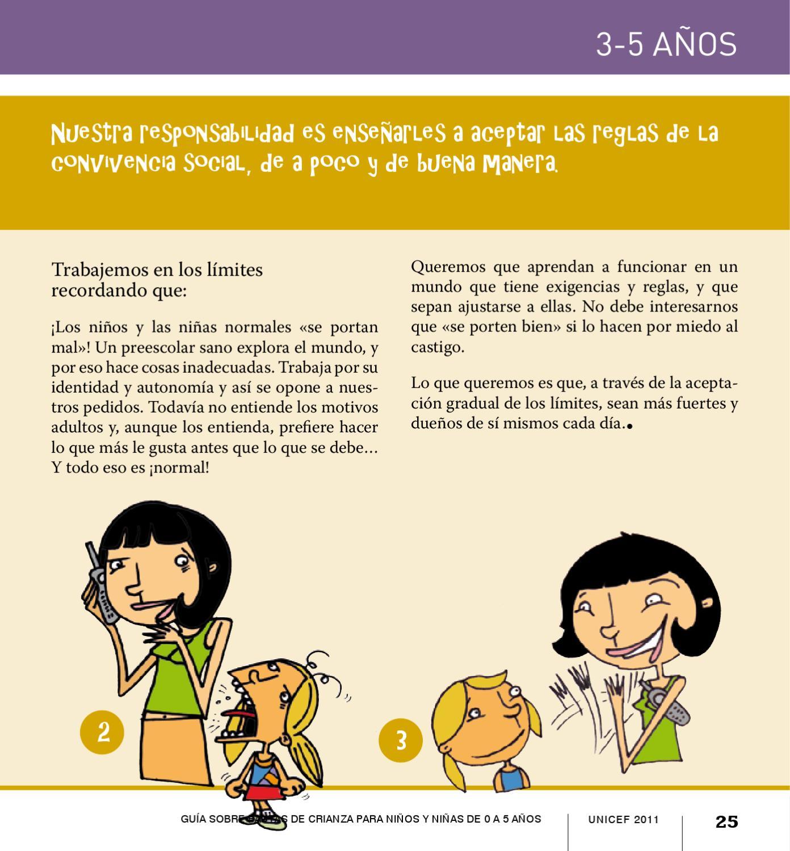 Mucho Poquito Nada Guía Sobre Pautas De Crianza Para Niños Y Niñas De 0 A 5 Años De Edad By Unicef Lac Issuu