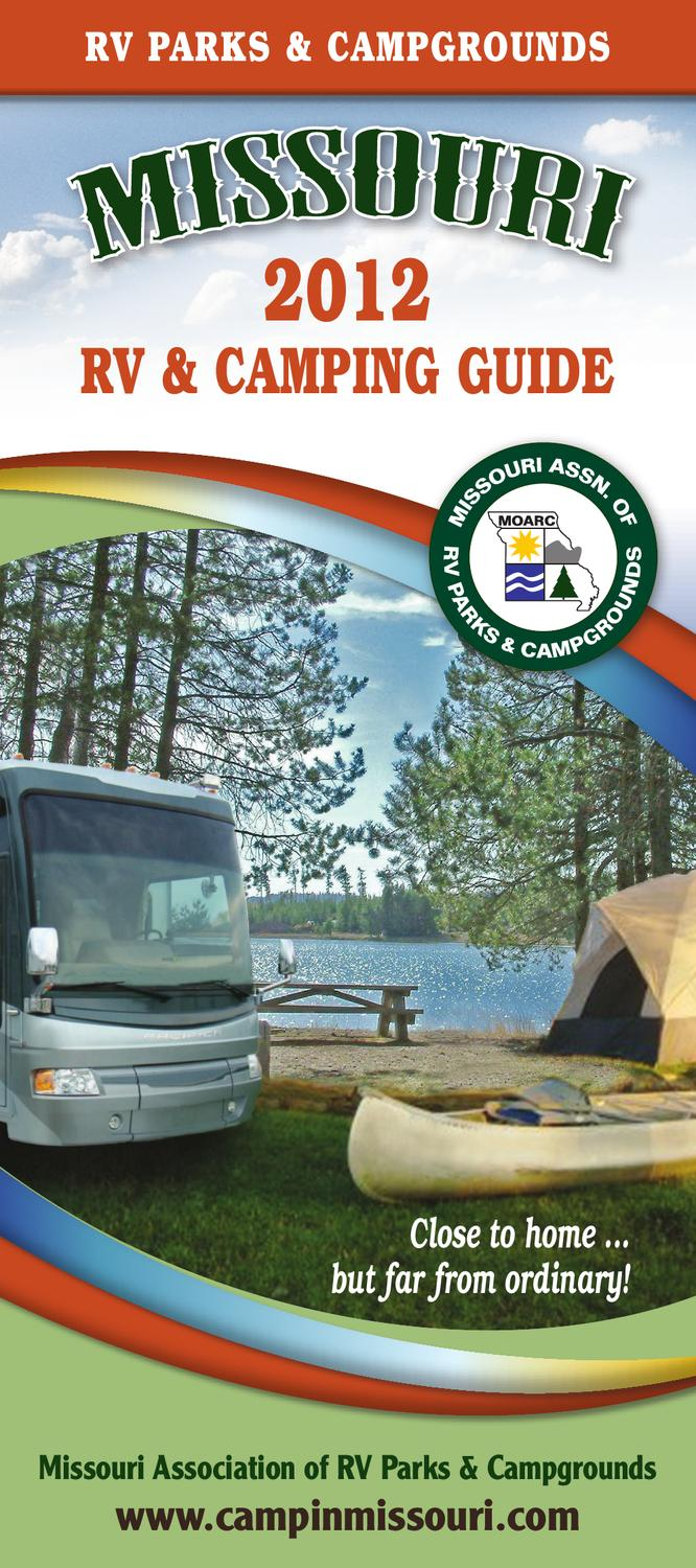 Missouri Rv Amp Camping Guide 2012 By Ags Texas Advertising