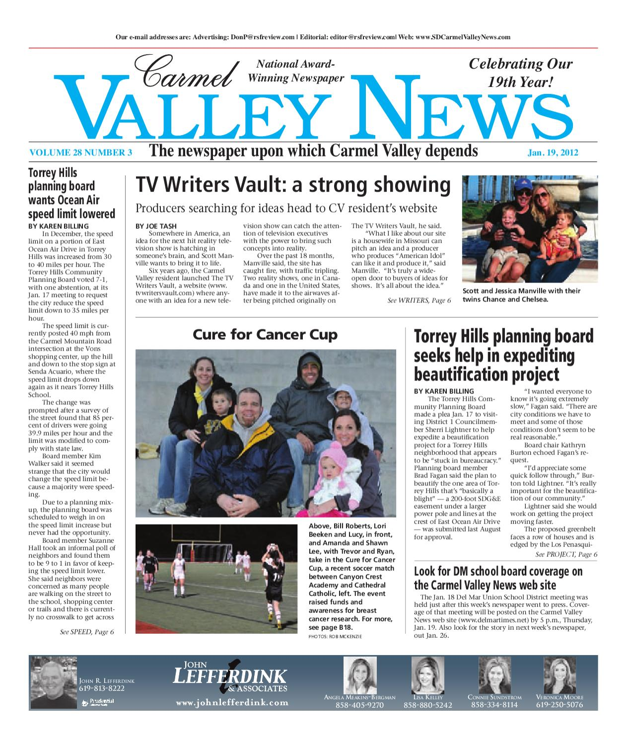 1 19 2012 carmel valley news by mainstreet media issuu fandeluxe Image collections
