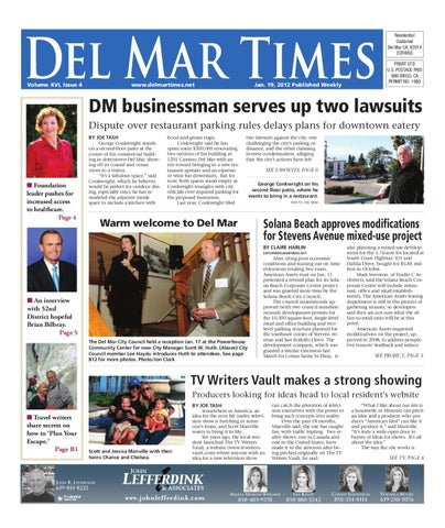 1 19 2012 del mar times by mainstreet media issuu page 1 fandeluxe Image collections