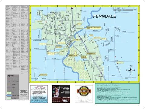 Ferndale Washington Map.2012 Ferndale Map By Ferndale Record Issuu