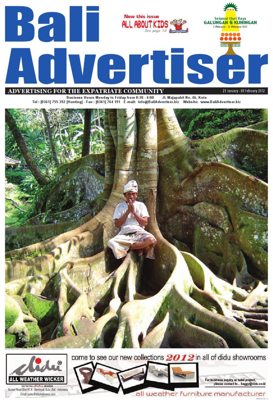 Ba 25 January 2012 By Bali Advertiser Issuu