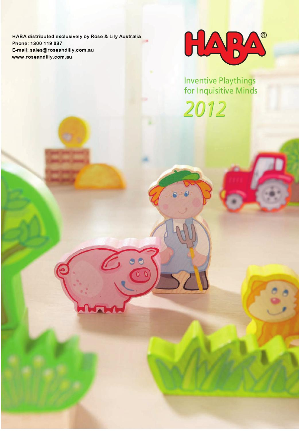2012 Haba Toy Catalogue by Rose and Lily Australia - issuu 1c7960127c29