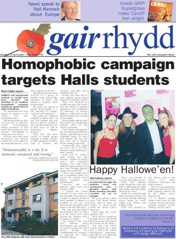 Gair Rhydd Issue 730 By Cardiff Student Media Issuu