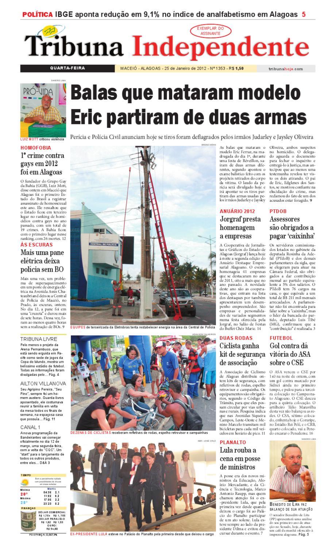 d11a14b83 Edição número 1353 25 de janeiro de 2012 by Tribuna Hoje - issuu